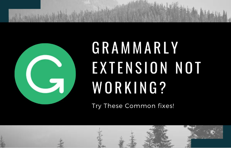 Fix Grammarly Chrome Extension Not Working