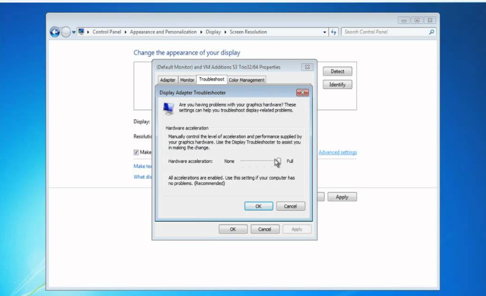 Enable Or Disable Hardware Acceleration