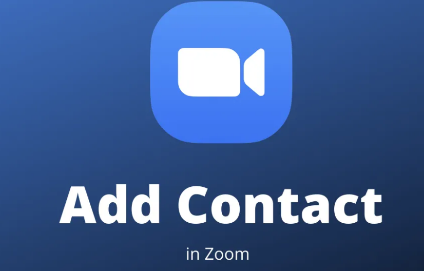Add Contacts To Zoom