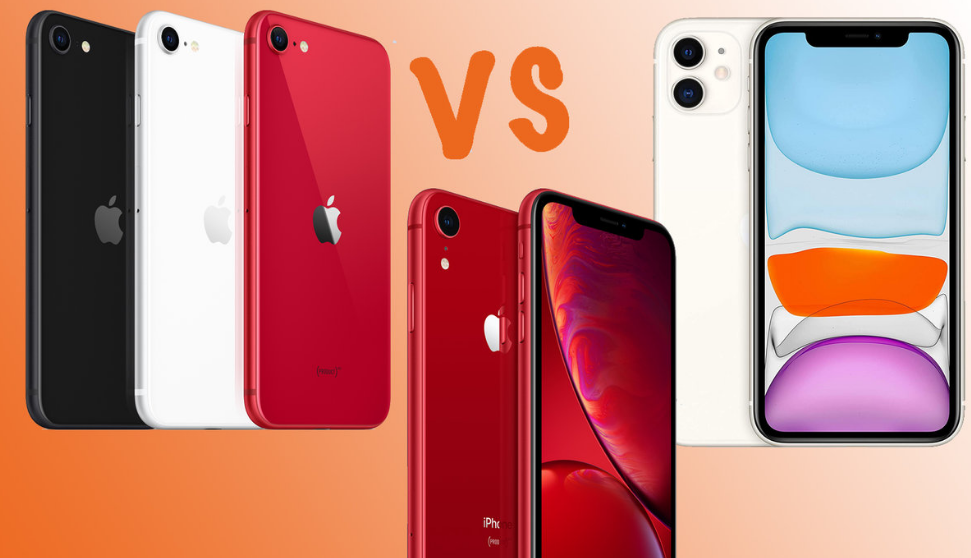 Apple iPhone XR vs iPhone X