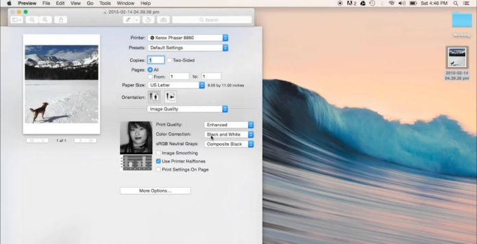 How to Print in Black & White on Mac