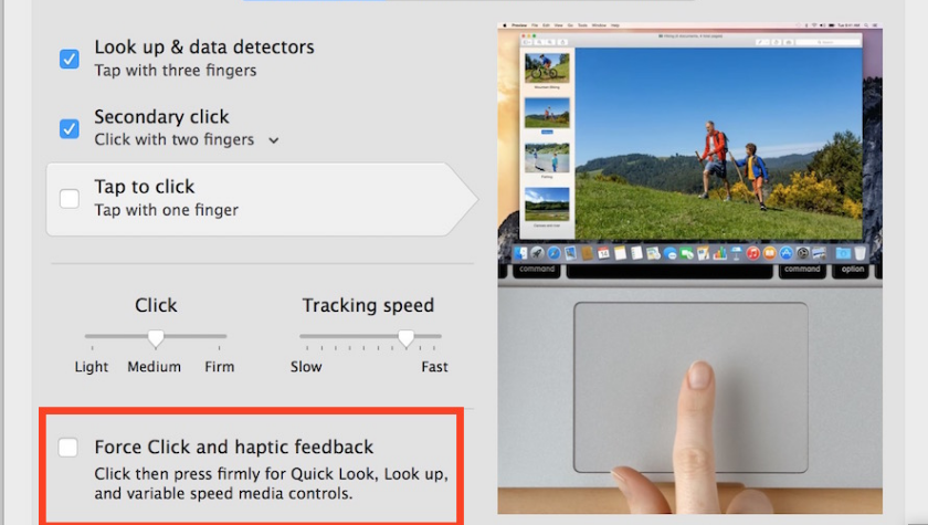 Right-Click On MacBook