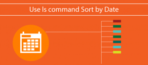 Sort ls Command by Date