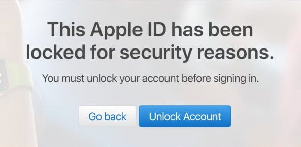 apple id locked