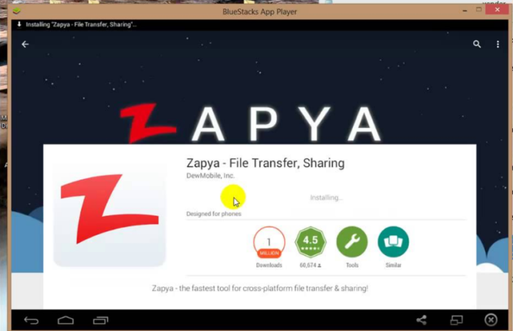 Zapya For PC, Windows