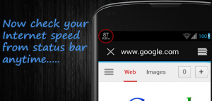 Internet Speed Meter Lite app