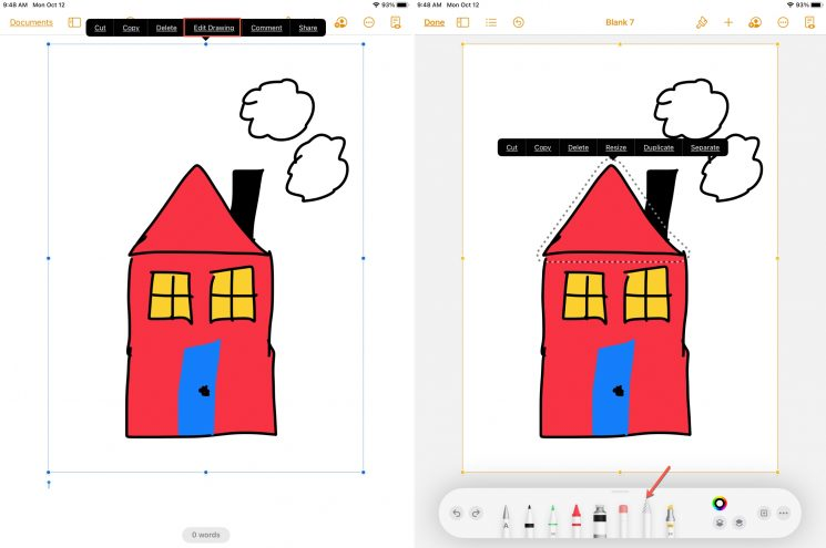 Edit, animate, and share a drawings