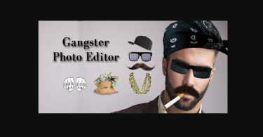 Gangster Photo Editor for pc