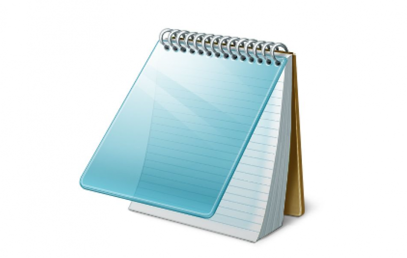 line numbers in Notepad