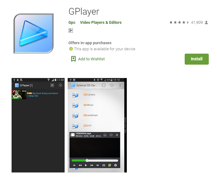 Gplayer for Mac