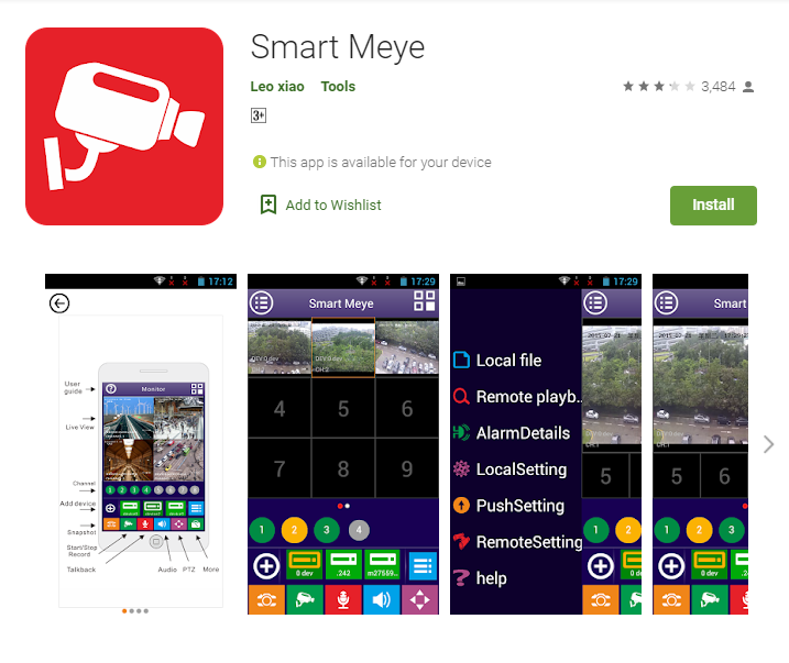 Smart Meye for PC