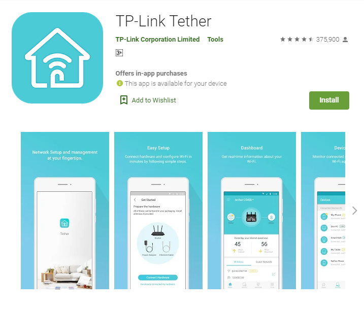 TP Link Tether for PC
