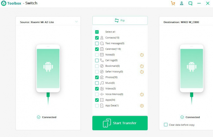 iskysoft toolbox for android