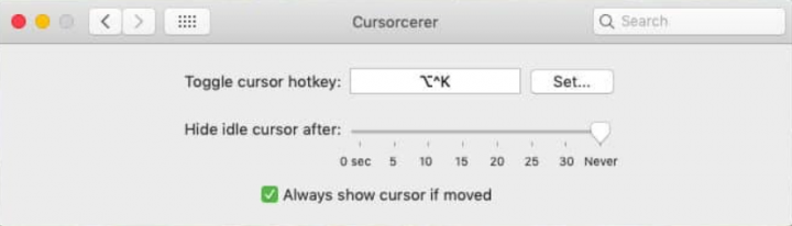 How to Hide the Cursor on MacOS - Tutorial