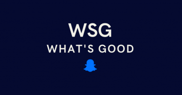WSG mean on Snapchat