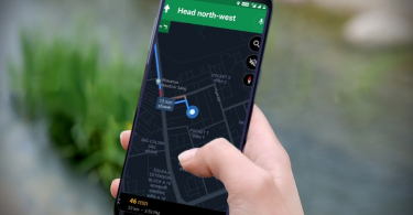 google maps not showing route